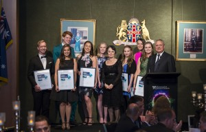 The PSOTY finalists with NSW Minister for Mental Health, Pru Goward, and PSA National President Joe Demarte