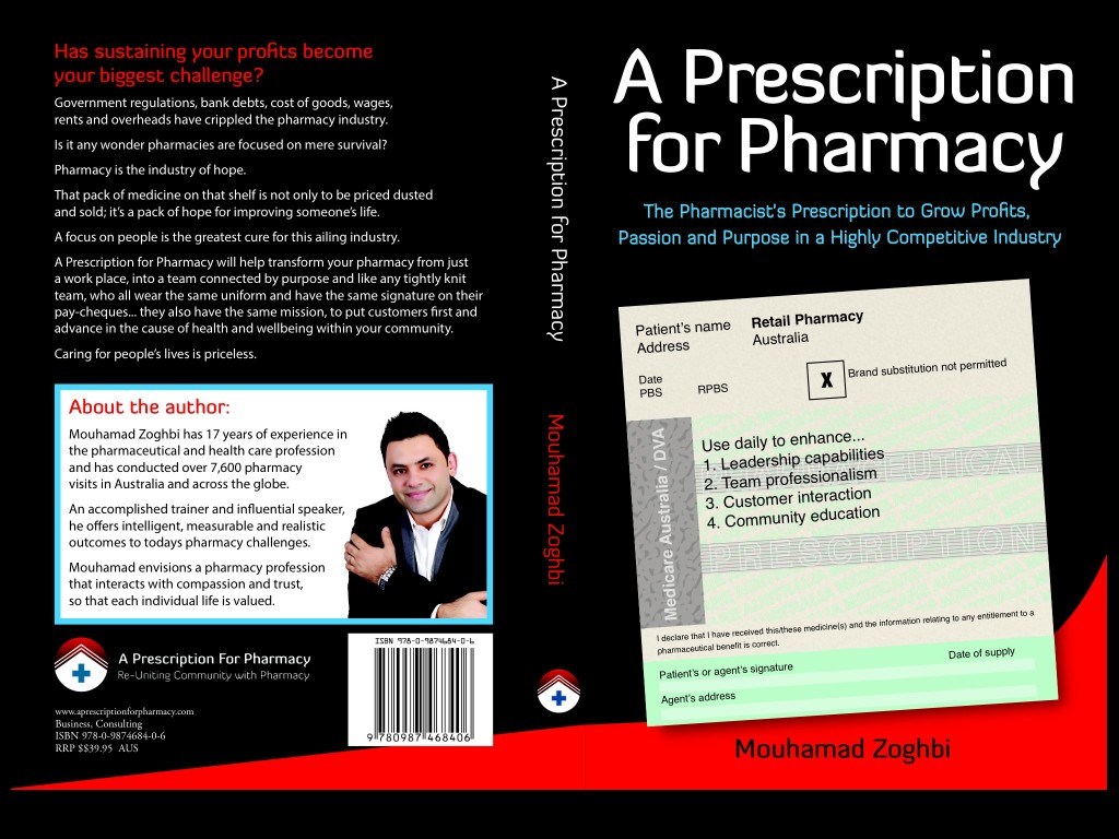 A prescription for pharmacy.