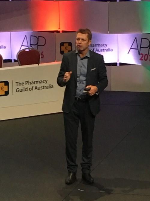 Mark Sargent at APP